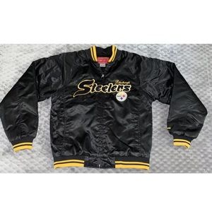 VTG Reebok Pittsburgh Steelers Medium Jacket